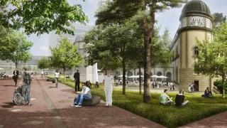 Plätze, Pärke und eine Kulturmeile: Das Stadtraumkonzept steht