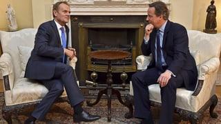 EU mit neuen Vorschlägen gegen einen «Brexit»