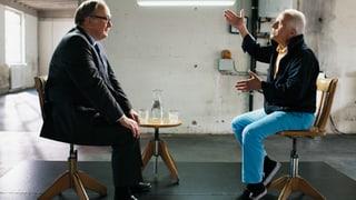 Alt Bundesrat Samuel Schmid trifft Parodist Walter Andreas Müller (Artikel enthält Video)