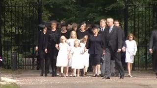 Niederländische Königsfamilie nimmt Abschied von Prinz Friso