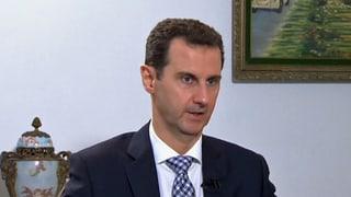 Assad: «Syrer fliehen nicht vor mir»