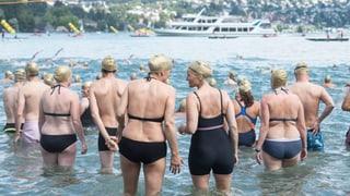 Nicht alle Neuerungen der Zürcher Seeüberquerung kommen gut an