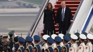 China empfängt Trump mit besonderen Ehren