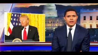 Video «Trevor Noah - Wenn Satire den US-Präsidenten entlarvt» abspielen