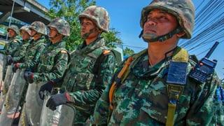 Thailands Armee setzt die Verfassung ausser Kraft