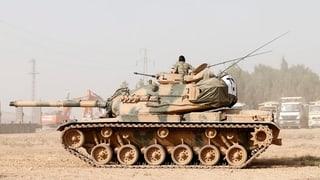 Türkische Offensive in Syrien gilt auch den Kurden