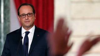 Frankreich startet Luftangriffe auf IS