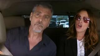 Singsang: George Clooney und Julia Roberts im Duett