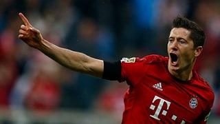 5 Tore in 9 Minuten: Lewandowski schiesst Wolfsburg ab