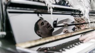 Ein Strassenmusiker gibt Syrien ein bisschen Hoffnung