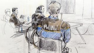 Terror-Verhandlung Bellinzona: Den Irakern drohen drei Jahre Haft