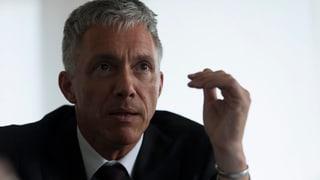 Bundesanwalt Lauber fordert effizientere Rechtshilfe