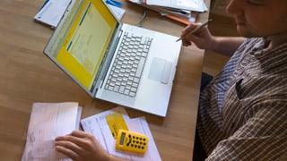 1,7 milliuns clients pertutgads d'incap tar la Postfinance