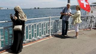 «Burka-Verbot»: Schweizer Tourismus in Gefahr?