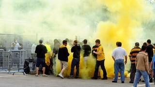 Berner Kantonsparlament will schärfere Gesetze gegen Hooligans