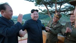Kim Jong Un lässt erneut die Muskeln spielen