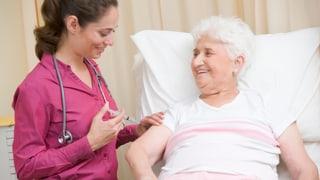 Das Immunsystem altert mit dem Menschen