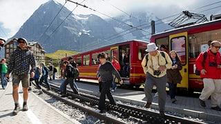 Asiatischen Gästen sei Dank: Jungfrau-Bahnen mit Rekordgewinn