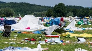 Der Abfall-Frust nach dem Open Air
