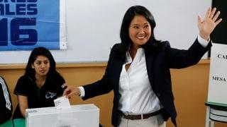 Wahlkrimi in Peru – Fujimori-Tochter leicht im Rückstand
