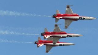 Patrouille Suisse fliegt bereits am Wochenende wieder