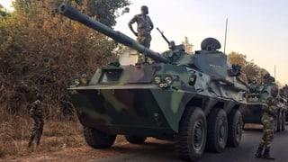 Letzte Vermittlung in Gambia: Senegal stoppt seine Panzer