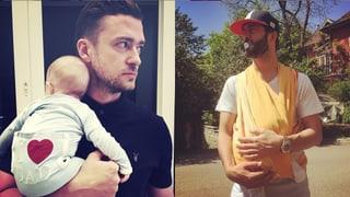 Timberlake, Bligg und Co. feiern den Vatertag