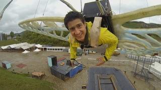 Video «LCD-Erfinder, Wildbienen und Stadthonig, waghalsiges Spektakel » abspielen
