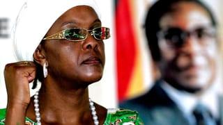 Mugabes Ehefrau greift nach der Macht
