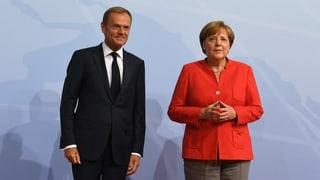 Merkel und Tusk mit Aussenseiterchancen