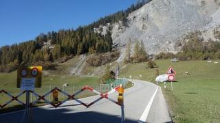 Crap da 3 meters cubics è crudà sin via a Brinzauls