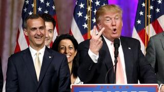 Trump feuert seinen Wahlkampfleiter