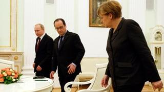 Deutsch-französische Vermittlungsoffensive nimmt Fahrt auf