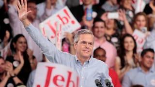 Nun ist es offiziell: Jeb Bush steigt ins Rennen