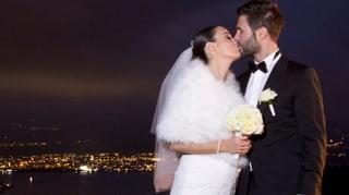 Hochzeit und Vater: Sandro Cavegn zeigt sein Liebesglück