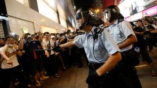 Schwerverletzte nach Polizeieinsatz in Hongkong