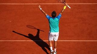 Nach epischem Fünfsätzer: Wawrinka im French-Open-Final
