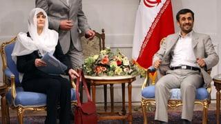 Naginas fatschentas cun gas ord l'Iran