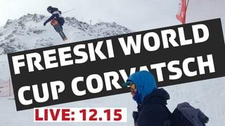 Freeski Corvatsch Live L'elita da Freeski al Corvatsch