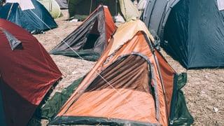 Das sind die herrlichsten Zelt-Fails