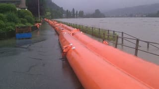 Hochwasser in Region Aargau Solothurn im Griff: Kantone zufrieden