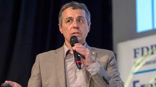 PLD propona sulettamain Ignazio Cassis sco nov cusseglier federal