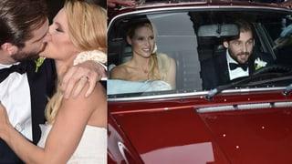 Michelle Hunzikers TV-Hochzeit: Hier fährt sie ins Liebesglück