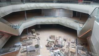 Die Mall of Switzerland nimmt langsam Formen an