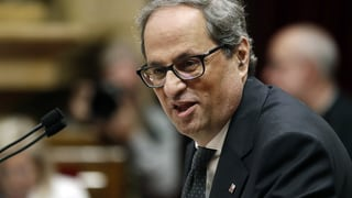 Quim Torra neuer katalanischer Regionalpräsident