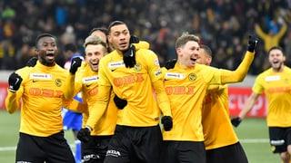 Ils Young Boys en il final da la cuppa svizra