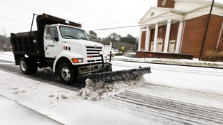 US-Südstaaten bereiten sich auf Schneesturm vor