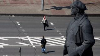 Front gegen radikale Parolen in Kiew