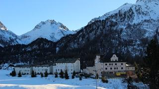 Futur Hotel Kulm a Malögia resta intschert