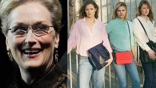 Meryl Streeps schöne Töchter: Sie modeln im Trio